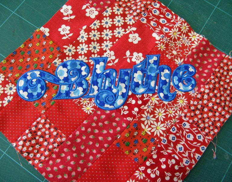 Blythe quilt block